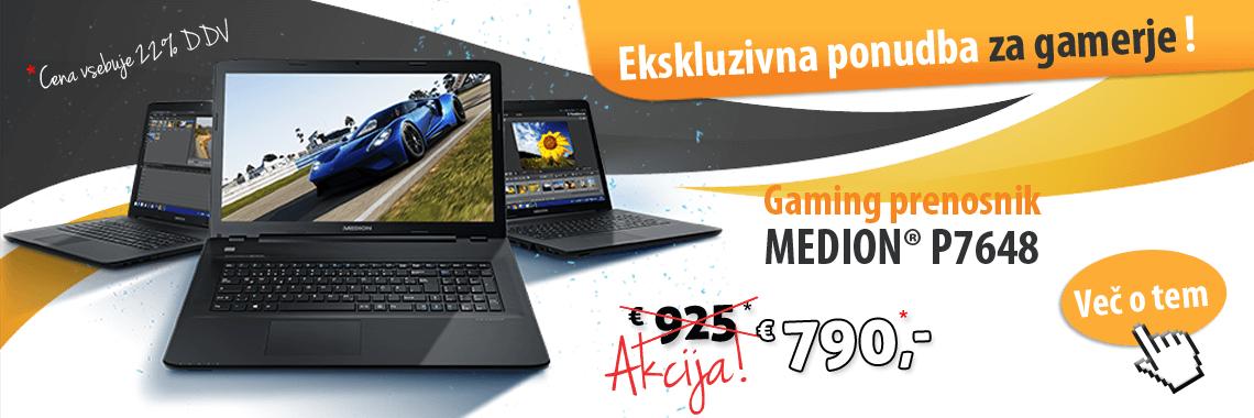 Medion Erazer Gaming P7648