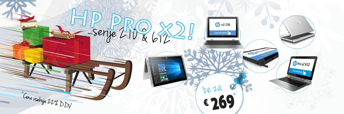 HP Pro x2 ultra lahki prenosniki