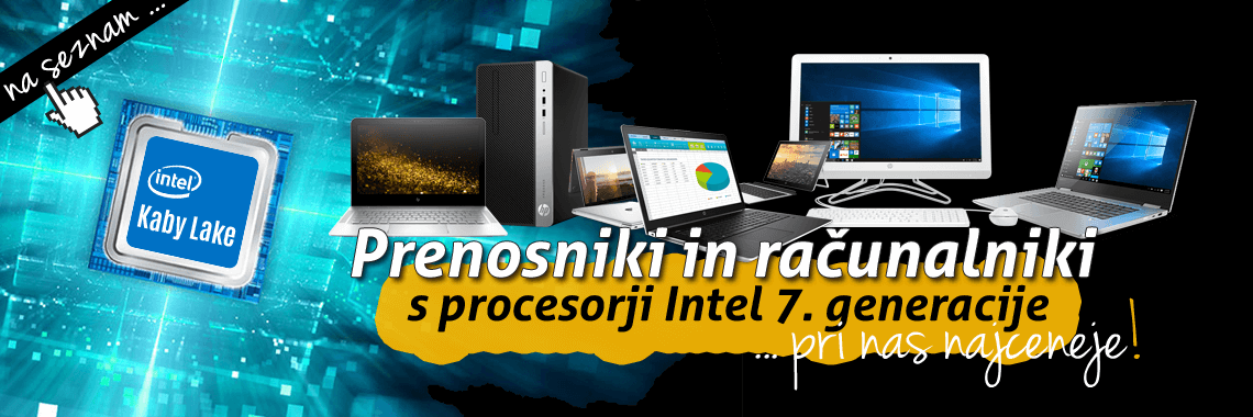 Intel 7th Gen naprave