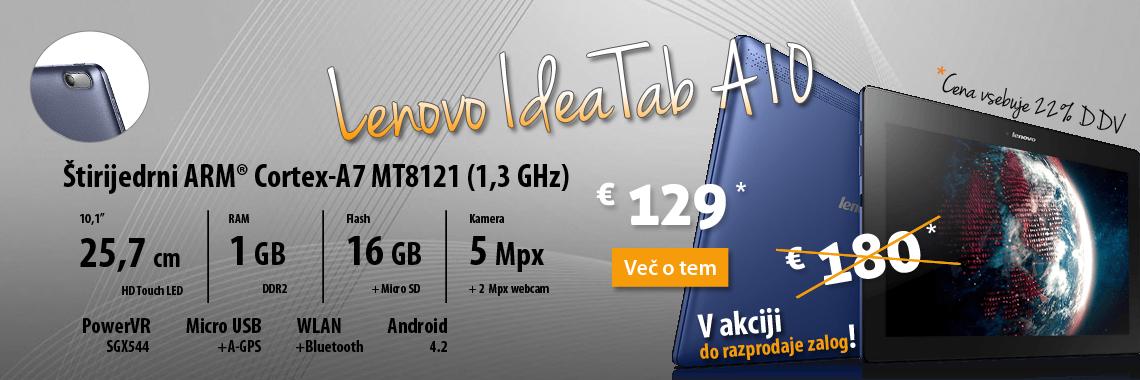Lenovo IdeaTab A10 akcija