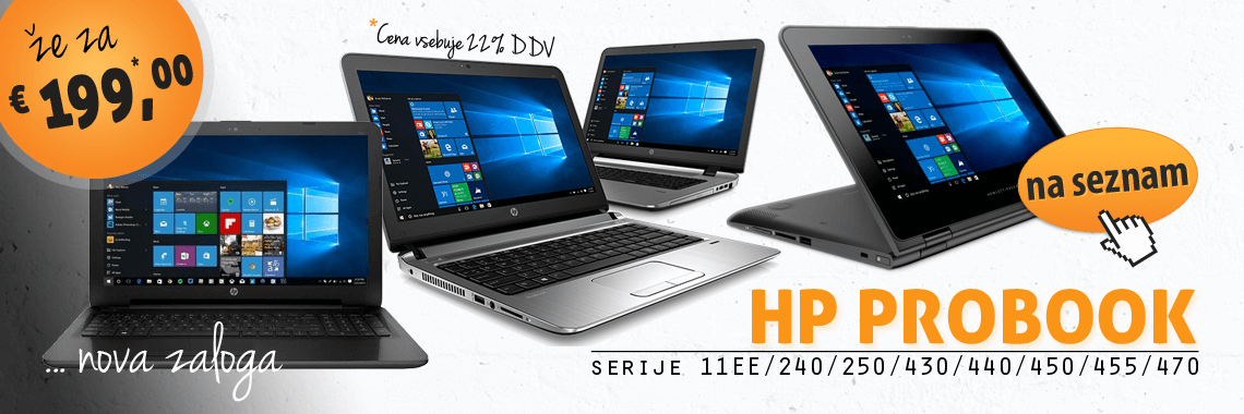HP ProBook - Summer Stock 2016