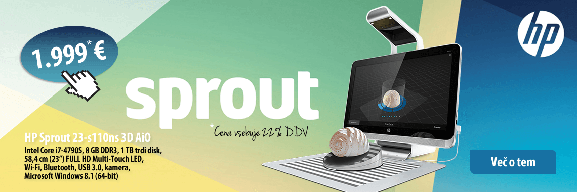 HP Sprout 3D AiO