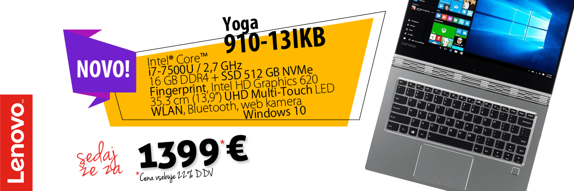 Lenovo Yoga 910 2-in-1 Convertible