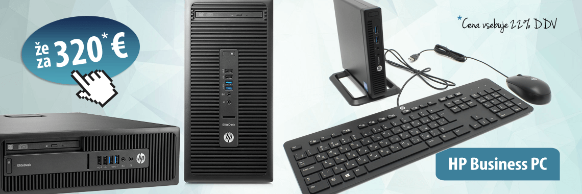 HP Business PC-ji