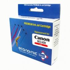 E.LINE Canon kartuša BCI6R BJC-8200/S800/820/S900/S9000 - Red