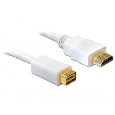 Kabel mini DVI Moški > HDMI Moški 5m