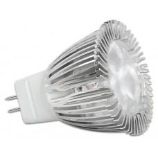 Delock Lighting MR11 LED žarnica 3,0 W hladna bela svetloba 3 x CREE XPE