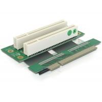 PCI-Riser-Kartica 2x PCI s fleksibilnim kablom za Jetway/Via MB