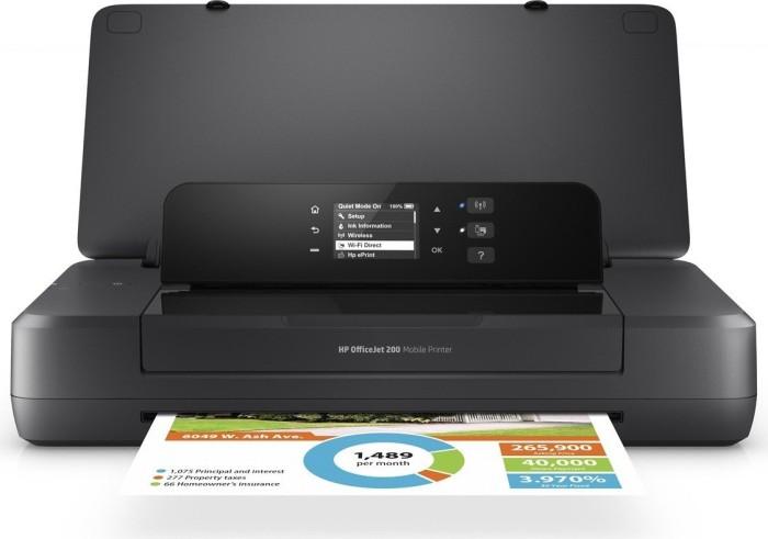 Brizgalni prenosni tiskalnik HP OfficeJet 202 Mobile