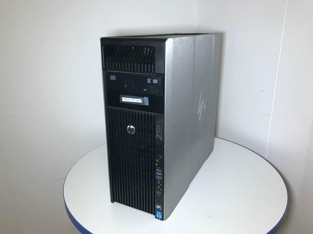Rabljen računalnik HP Z620 Workstation Tower / Intel® Xeon® / RAM 64 GB / Quadro grafika / B kvaliteta