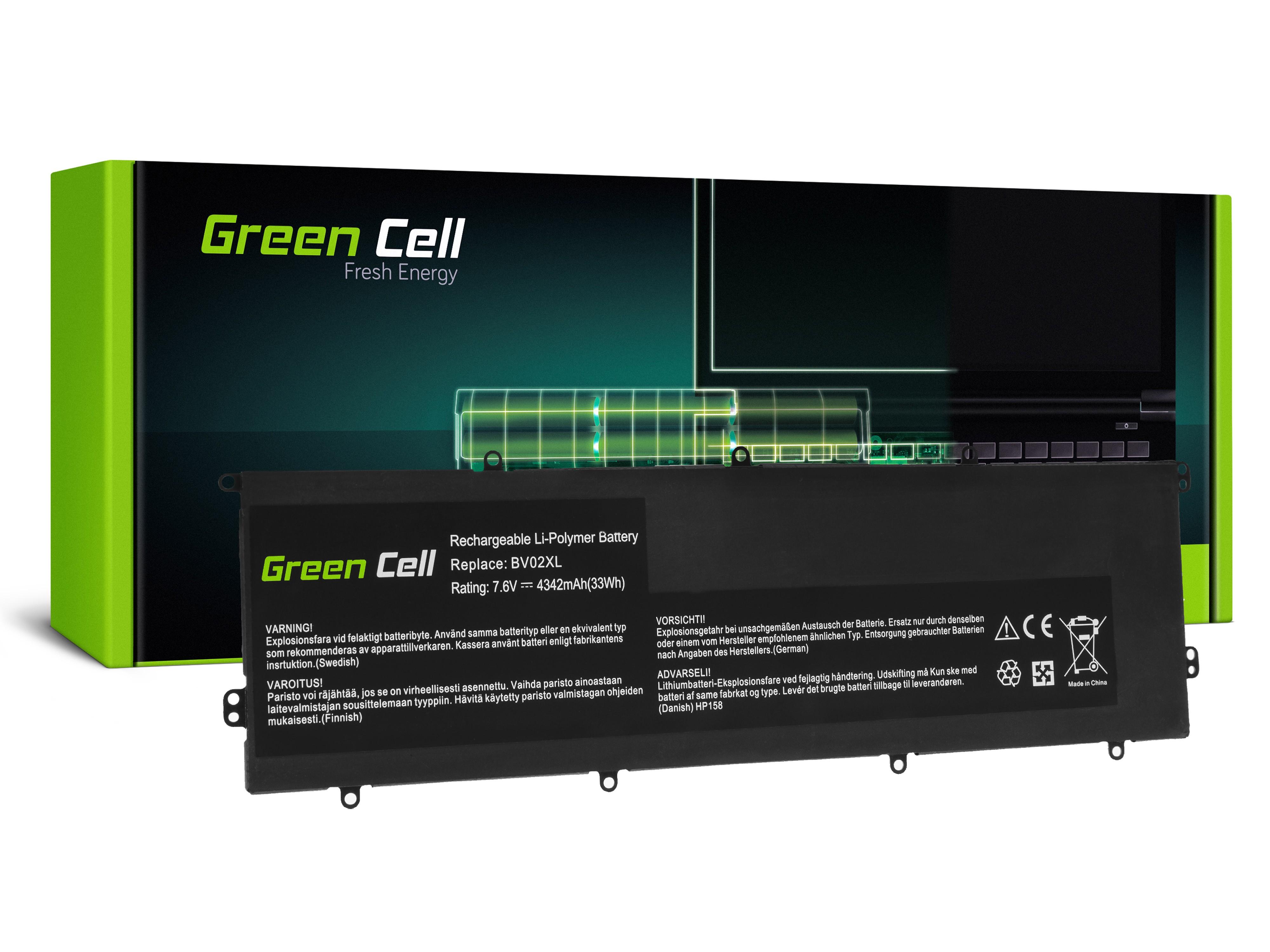 Green Cell baterija BV02XL za HP Envy x2 13-J 13-J010NW 13-J011NW (HP158)
