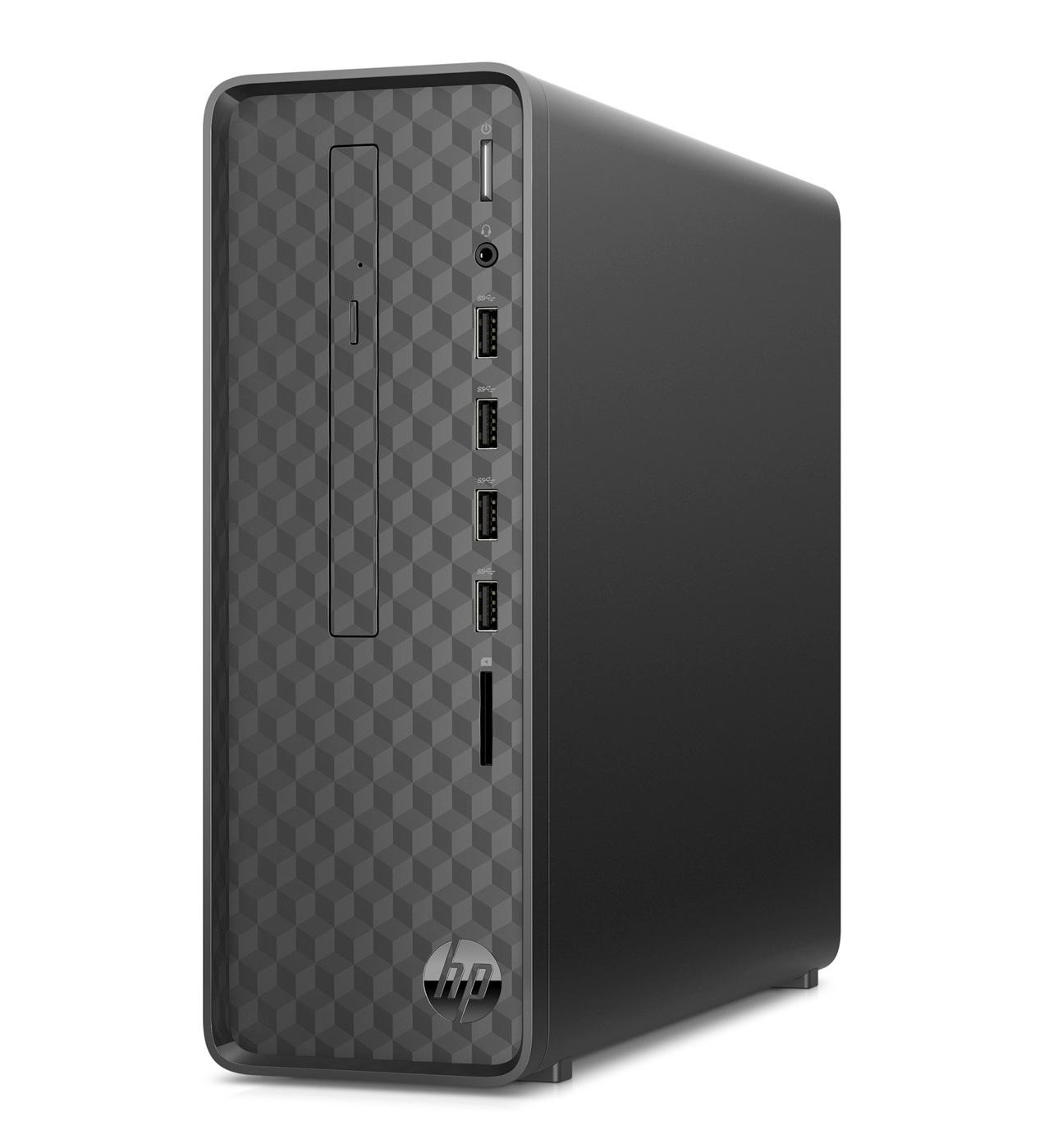 HP Slim Desktop S01-aF0005ng Jet Black