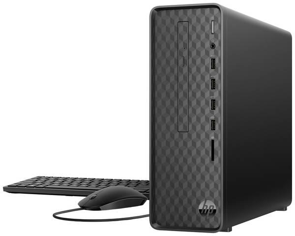 HP Slim Desktop S01-aF0601ng Jet Black