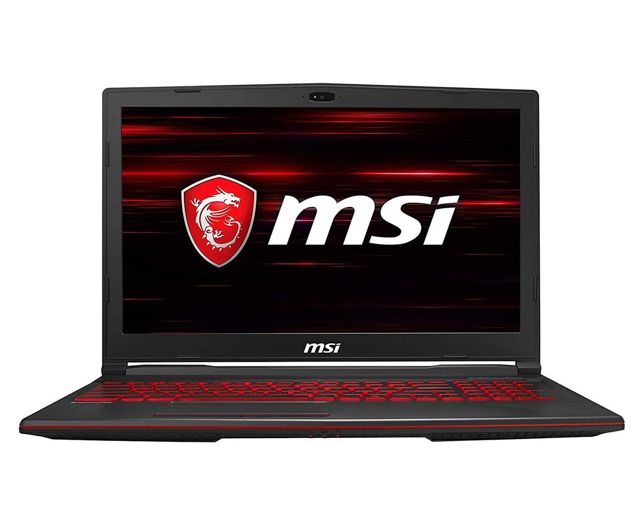 """MSI GL63 9SD GTX 1660 Titanium (6 GB) - i7-9750H/16 GB/256 GB SSD + 1 TB HDD/15,6"""" FHD/Win 10 DEMO"""